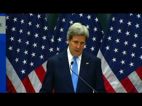 Secretary Kerry Delivers Remarks at an Overseas Security Seminar