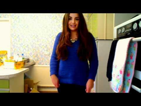 OOTD- Blue jumper & body-con skirt!