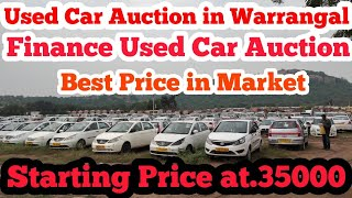 Cars Auction in Warrangal Used Cars Auction Used Finance Car Auction, Best Price in Market