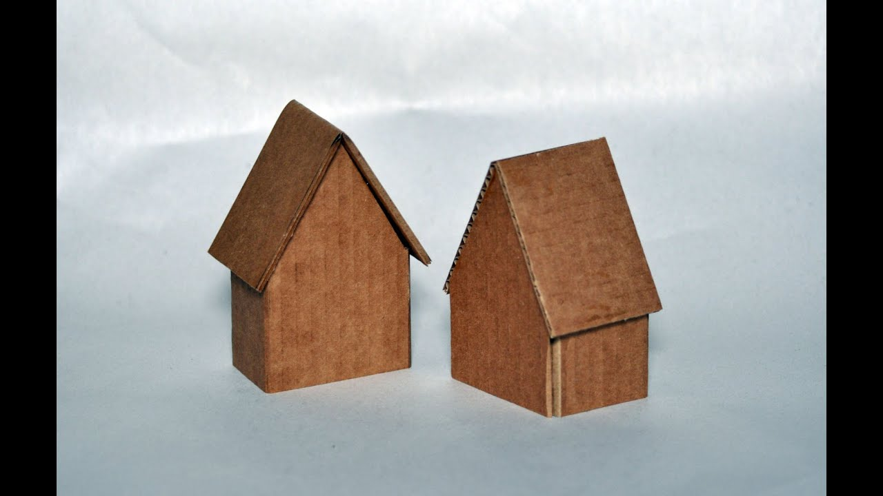 How to make a house out of cardboard boxes images for How to make a house from cardboard box