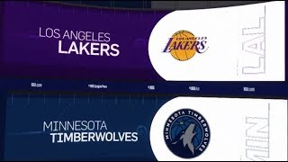LA Lakers vs Minnesota Timberwolves Game Recap | 1/6/19 | NBA