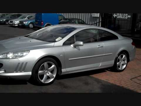 2007 peugeot 407 gt coupe 2 7 hdi v6 exterior youtube. Black Bedroom Furniture Sets. Home Design Ideas