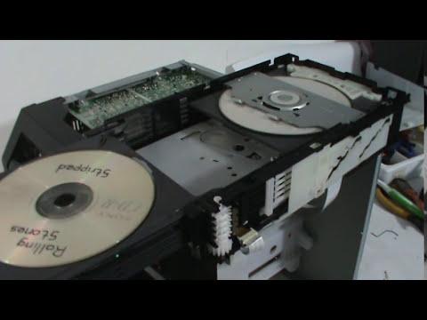 Panasonic SA-AK180/570/970/980. Mecanismo CR14 funcionando.