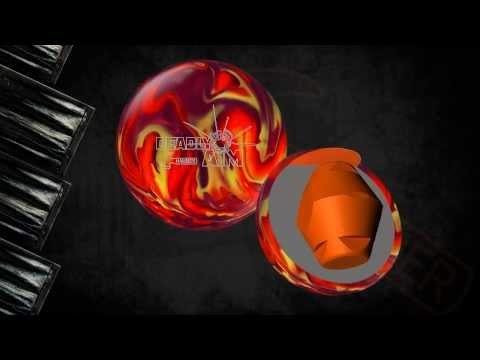 Hammer Deadly Aim Bowling Ball Reaction