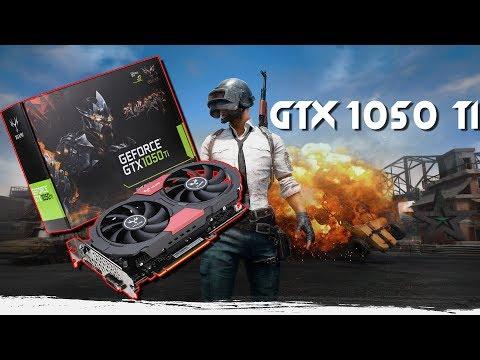 Распаковка GTX 1050 TI и тест в Playerunknown's Battlegrounds