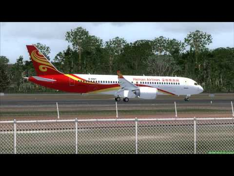 Hainan Airlines C919 Take Off Phuket