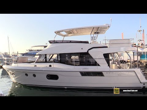 2019 Beneteau Swift Trawler 47 - Deck and Interior Walkaround - 2018 Cannes Yachting Festival