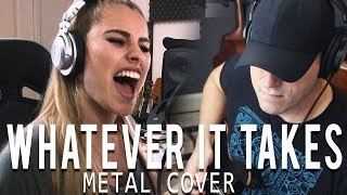 Download Lagu Whatever It Takes - Imagine Dragons Metal Cover Gratis STAFABAND