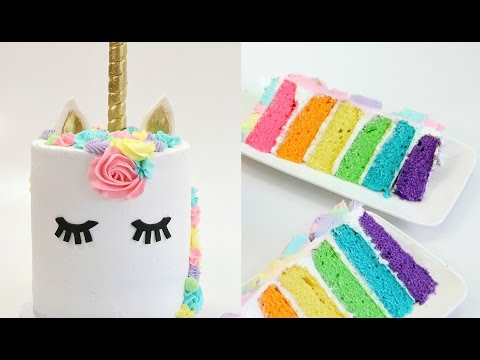 8 AMAZING Unicorn CAKES in 10 MINUTES!