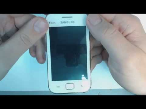 Samsung Galaxy Ace Duos S6802 - How to remove pattern lock b...