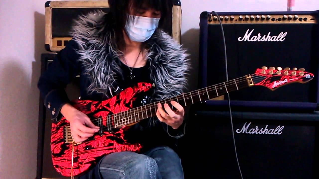 Guilty Gear Guitar Guilty Gear xx 【blue Water