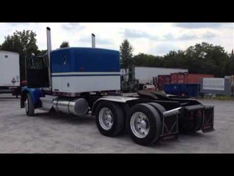 Freightliner For Sale >> 1984 KENWORTH W900A For Sale - YouTube
