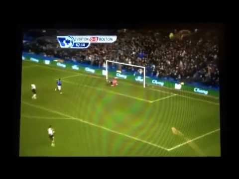 Tim Howard goal from own box vs Bolton [Real Video]
