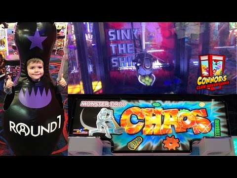 😵 NEW ARCADE GAMES!!Sink The Ship, Monster Drop Chaos, Pacman Swirl!!