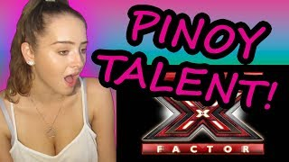 REACTING TO FILIPINO SINGERS THAT SHOCKED THE WORLD! X-FACTOR EDITION!