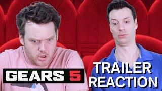 Gears of War 5 - Official Announcement Trailer - Reaction