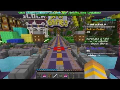 How to get out of SkyDoesMinecraft server spawn.No VIP Needed