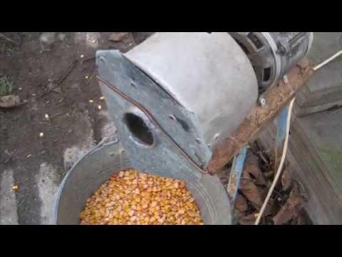 Кукурузолущилка электрическая своими руками 183