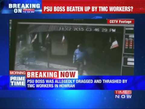 PSU boss Dragged Out, Beaten up