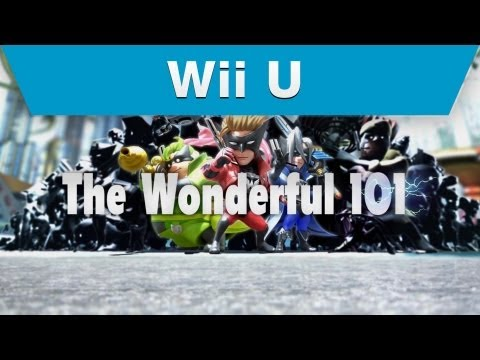 Wii U - The Wonderful 101 Trailer