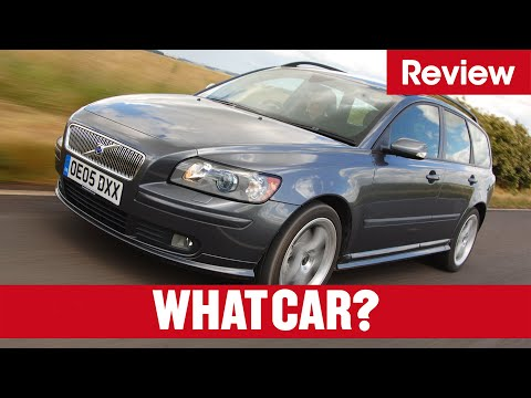 Volvo V50 Estate review - What Car? - YouTube