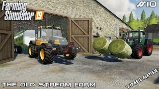Animal care and selling silage | Animals on The Old Stream Farm | Farming Simulator 19 | Episode 10