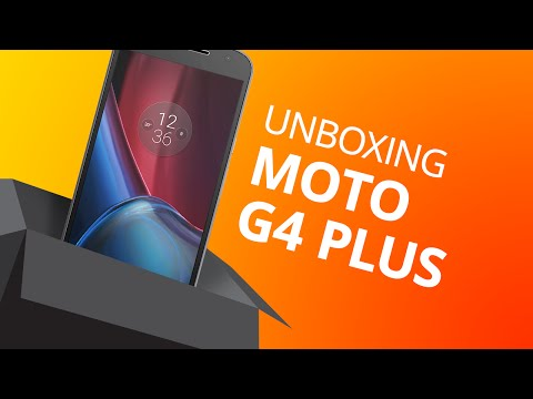 Moto G4 Plus: Unboxing E Primeiras Impressões [Unboxing]