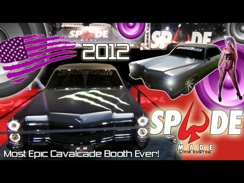 Spade Kreations Epic Cavalcade of Customs booth 2012