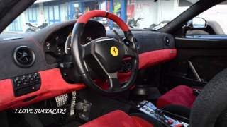 Ferrari 360 Challenge Stradale - Start up and Accelerations