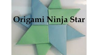 Double Sided Transforming Origami Ninja Star