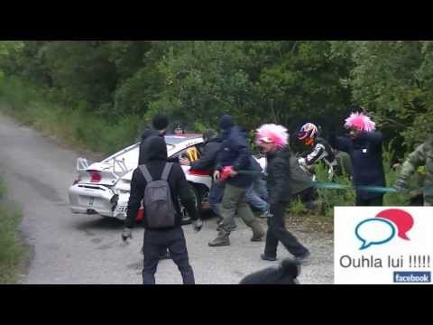 Oops moments rally Var 2013 Maurin limit Dumas out by William the king