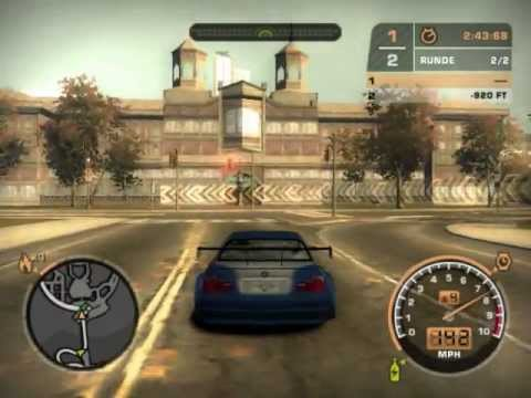 NFS Most Wanted Razor vs Sonny - Changed Story (BMW not lost) - Blacklist #15