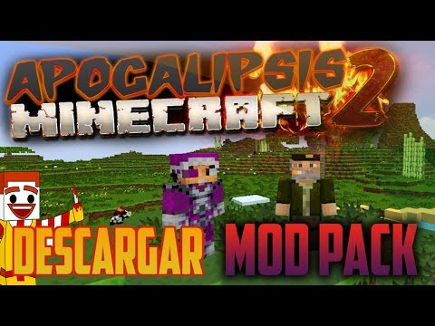 Modpack | #APOCALIPSIS TemPorada 2 | Willyrex Vegetta777 Minecraft 1.6.4