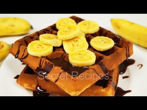 Топ 3 Банановые вафли за 15 минут | Banana waffles