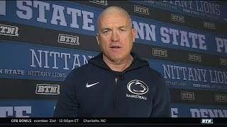 Pat Chambers Talks Win Over Maryland and More | Penn State Basketball