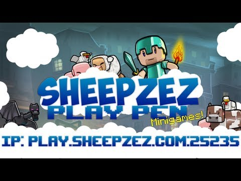 Minecraft Minigames Server - Sheepzez Play Pen 1.6.2