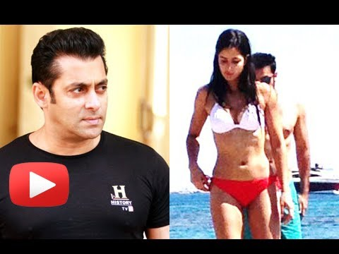 Salman Khan Reacts To Katrina Kaif Leaked Bikini Pictures video
