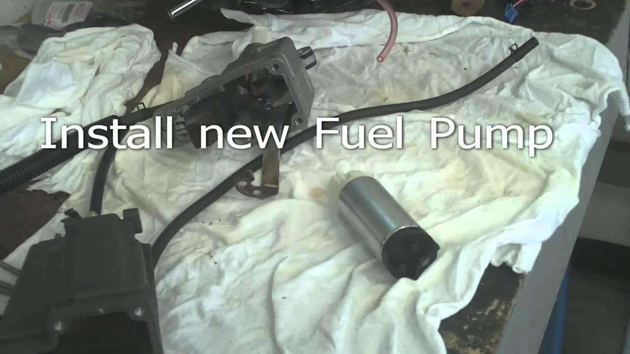 Suzuki Df70 Marine Outboard Motor Electric Fuel Pump