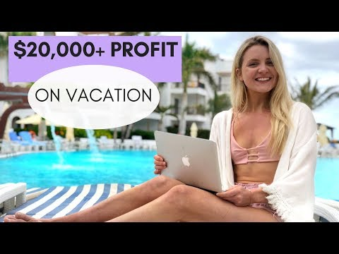 How I Made $20,000+ Profit On Vacation (PASSIVE INCOME) | 21 Year Old Online Entrepreneur + GIVEAWAY