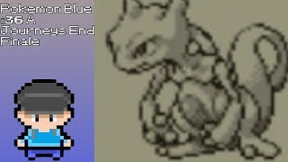 Pokemon Blue Lets Play #36 A Journeys End (Finale)