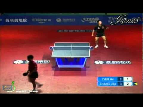 2011 Harmony China Open (ms-sf) YAN An - ZHANG Jike [Full Match|Short Form]
