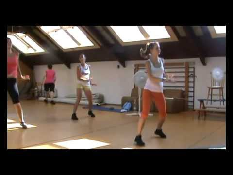 Zumba Fitness Jennifer Lopez - Dance Again   Pitbull - Back In Time (zumba Ildiko) video