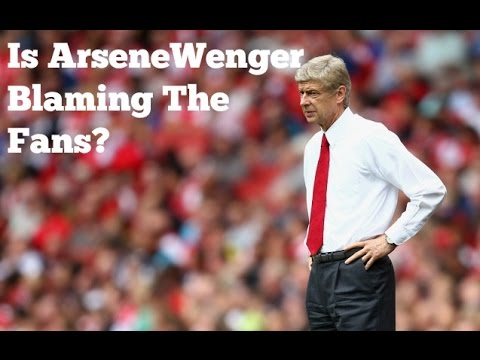 Arsenal | Is Arsene Wenger Blaming The Fans? (Robbie Reacts)