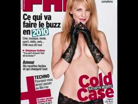 Kathryn Morris posing for magazine FHM - She is so beautiful!