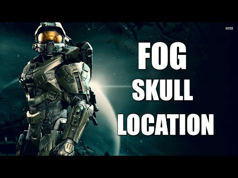"""Halo 3 - """"Fog"""" Skull Locations - Floodgate Skull Guide - Master Chief Collection"""