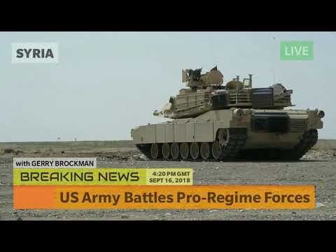 US Army Battles Pro-Regime Forces in Syria - Breaking News