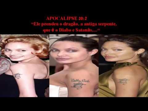 Angelina Jolie Confessa Ritual Satânico Com Sangue  !!!