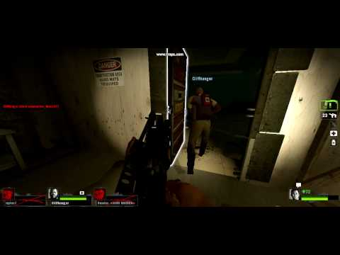 Left 4 Dead 2 Tank Trap in Safe room