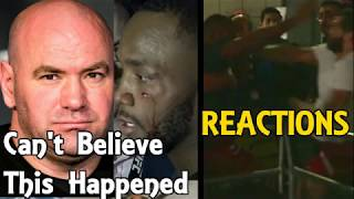 MMA Reacts to Jorge Masvidal, Leon Edwards Backstage Fight At UFC London | Michael Bisping UFC HOF