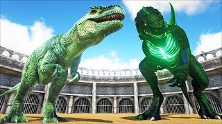 GODZILLA VS GIGANOTOSAURUS | ARK: Survival Evolved